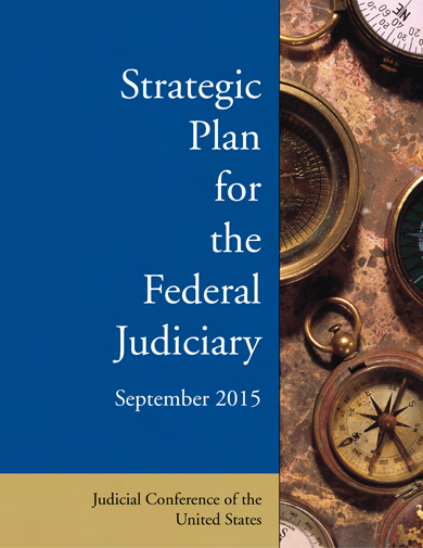 Cover of Strategic Plan for the Federal Judiciary