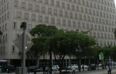 The U.S. Bankruptcy Court in Miami will  be moving out of the Claude Pepper Federal Building, above, relinquishing 31,000 square feet to the General Services Administration.