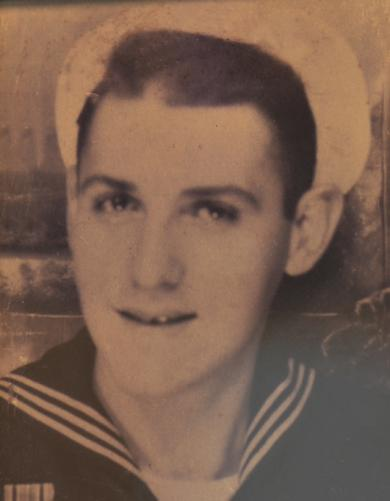 Arthur D. Spatt was a navigation petty officer in the U.S. Navy from 1944-1946 and retired as a Quartermaster Second Class.
