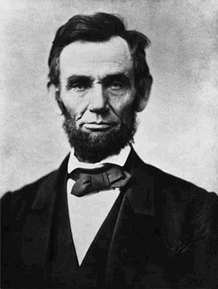 President Abraham Lincoln, Photograph by Alexander Gardner, Courtesy of Prints and Photographs Division, Library of Congress.
