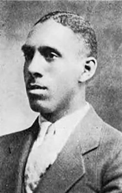 Leon E. DeKalb, as a young man. Photo courtesy of the Southern District of New York Probation Office.