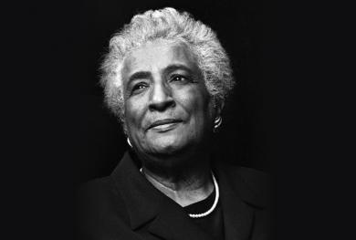 A 1998 portrait of U.S. District Judge Constance Baker Motley