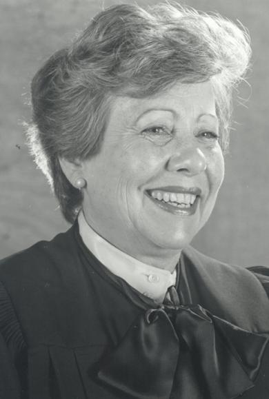 Image: Judge Dorothy Wright Nelson
