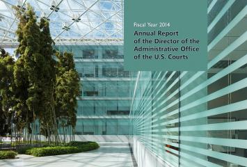 The 2014 cover of the Director's Annual Report.
