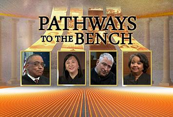 "The opening visual for the video series ""Pathways To The Bench""."
