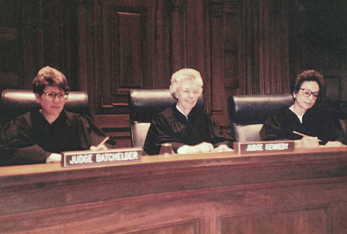 Image: First Sixth Circuit all women panel.