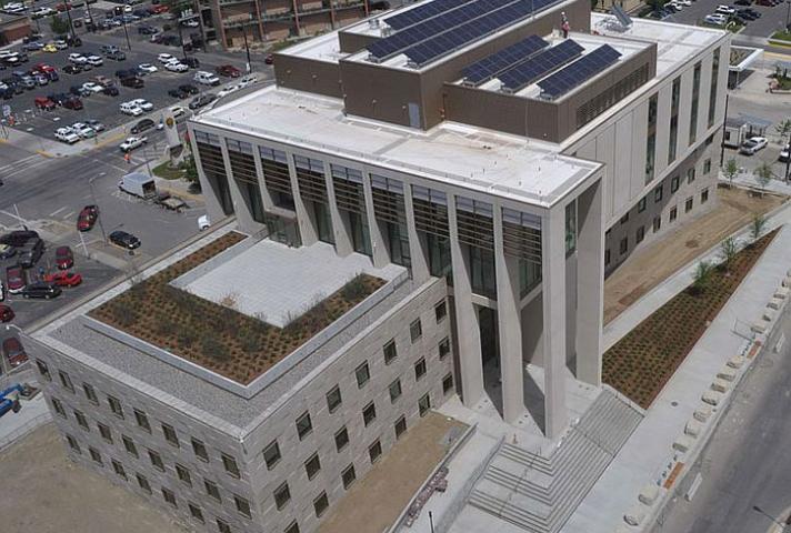 Billings, Montana Courthouse Dedication