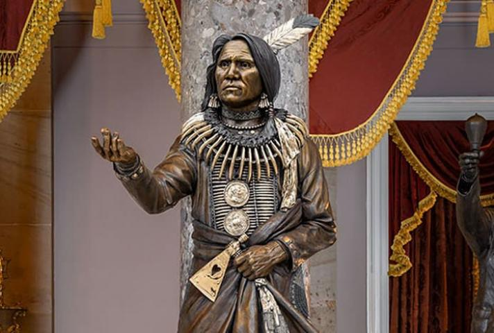 Statue of Chief Standing Bear