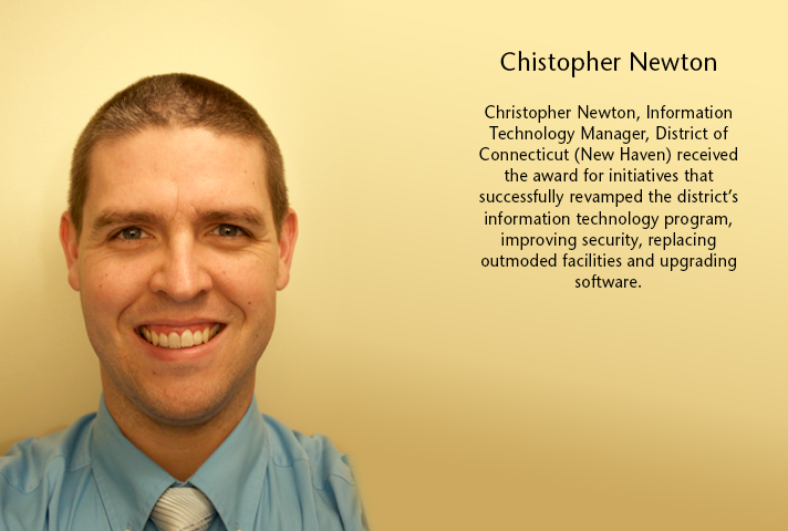Christopher Newton, Information Technology Manager, District of Connecticut