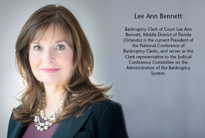 Bankruptcy Clerk of Court Lee Ann Bennett, Middle District of Florida.