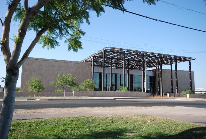 John M. Roll United States Courthouse in Yuma, Ariz.