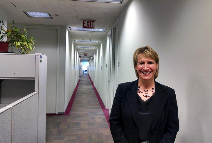 Jeanne Walsh, Chief U.S. Probation Officer for the Northern District of Illinois, said her current office layout, with long halls and private offices, no longer suits a downsized staff that spends many hours in the field.