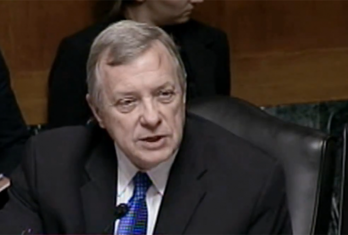 "Sen. Dick Durbin: ""Am I right to be concerned that these reductions may lead to potentially violent individuals ... without adequate supervision?"""