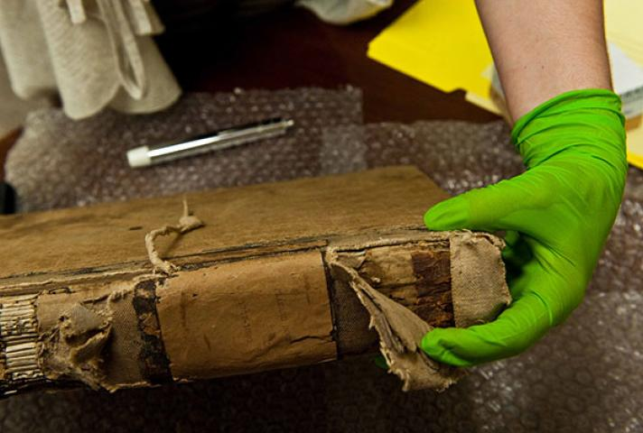 Historical documents dating back to 1767 were found at the District Court of the Virgin Islands.