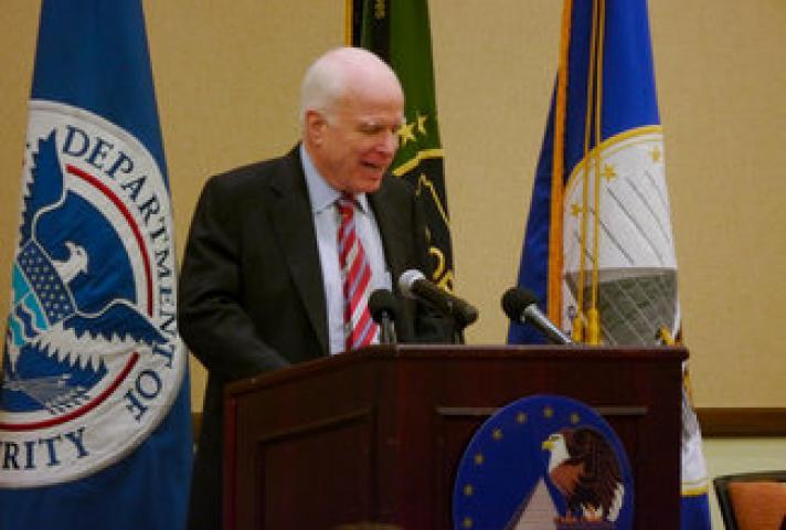 Senator John McCain at the John M. Roll U.S. Courthouse Dedication Ceremony