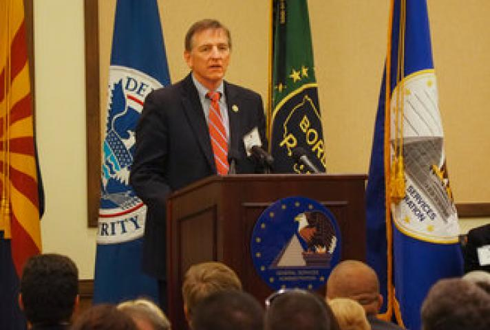U.S. Rep. Paul Gosar at the John M. Roll U.S. Courthouse Dedication Ceremony