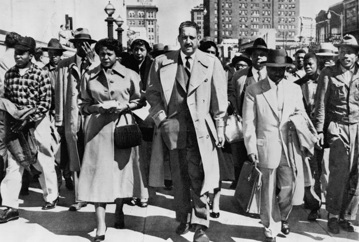 Thurgood Marshal and Autherine Lucy