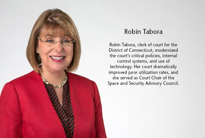 Robin Tabora, clerk of court for the District of Connecticut.