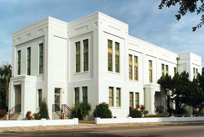 Image: Federal courthouse in Beaufort, SC.