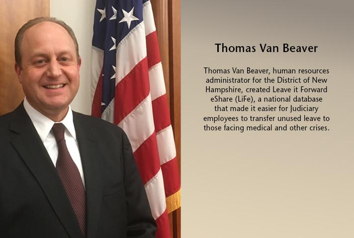 Thomas Van Beaver, human resources administrator for the New Hampshire District.