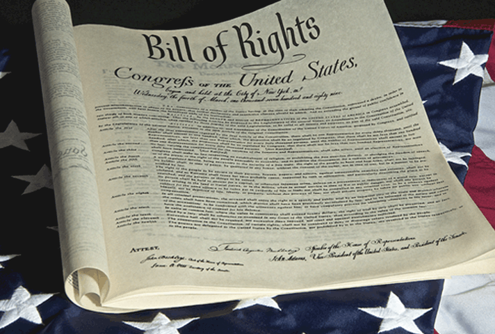 Now Cherished Bill Of Rights Spent A