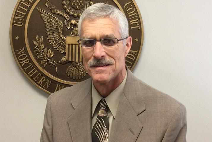 Picture of Paul Neely, IT Security Officer for the U.S. Bankruptcy Court for the Northern District of Florida