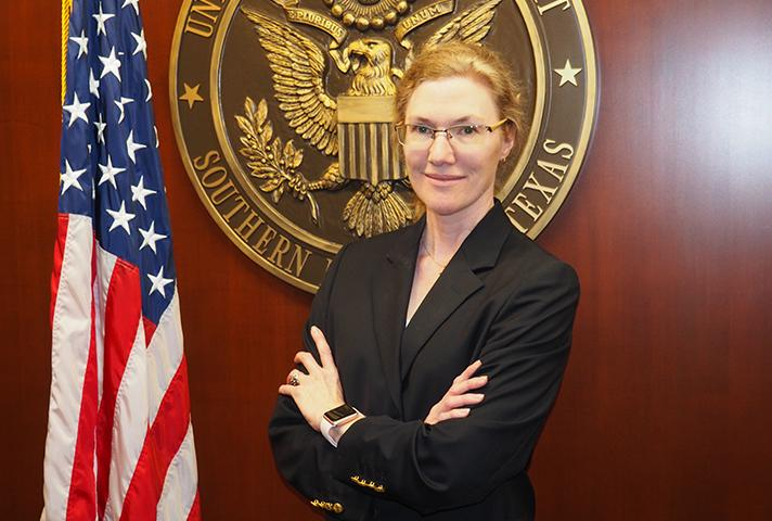 Picture of Sara Mainquist, Pro Se Law Clerk for the U.S. District Court for the Southern District of Texas