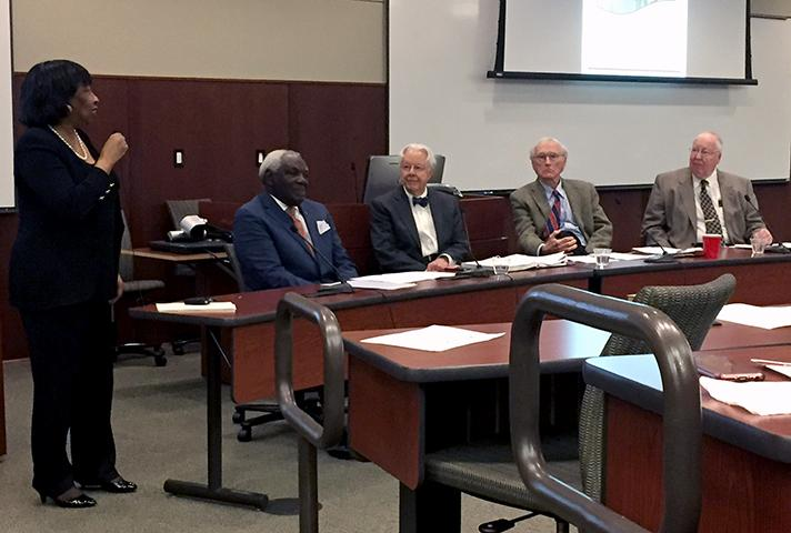Panel discussion during the program hosted by the U.S. District Court for the Western District of Tennessee.