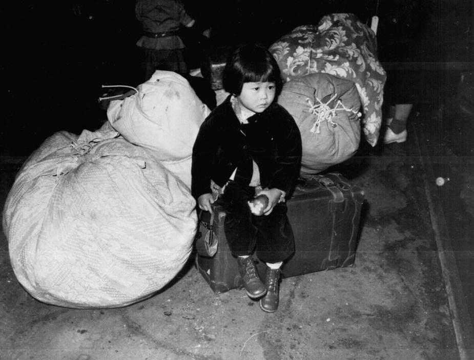 The internment order was based solely on Japanese ancestry. Children and the elderly were among those treated as security threats.