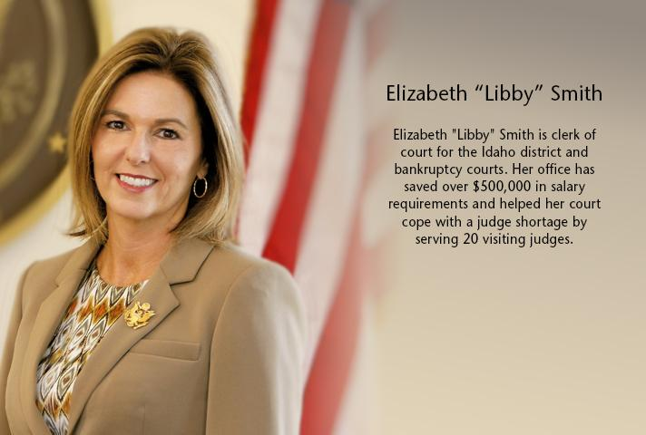 """Elizabeth """"Libby"""" Smith is clerk of court for the Idaho district and bankruptcy courts."""
