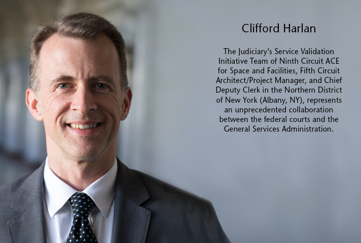Clifford Harlan, Ninth Circuit ACE for Space and Facilities.