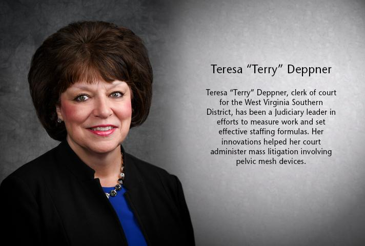 """Teresa """"Terry"""" Deppner, clerk of court for the West Virginia Southern District."""