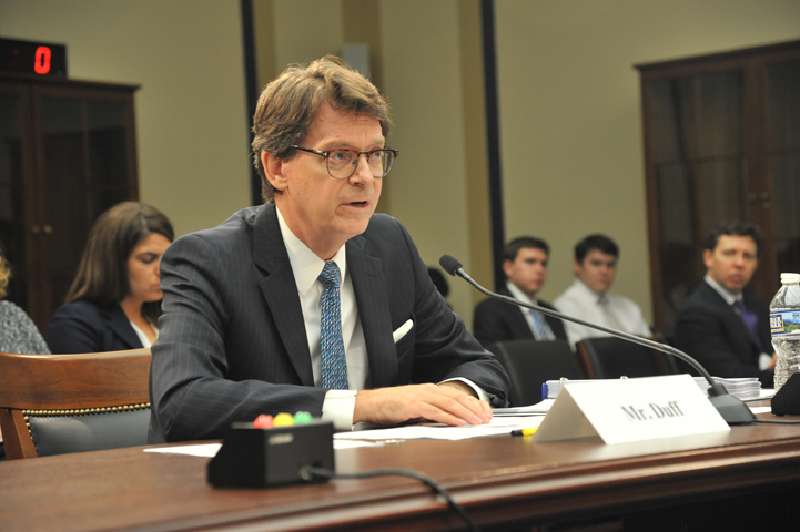 "AO Director James C. Duff stressed the Judiciary's commitment to being a ""good steward"" of federal funds."
