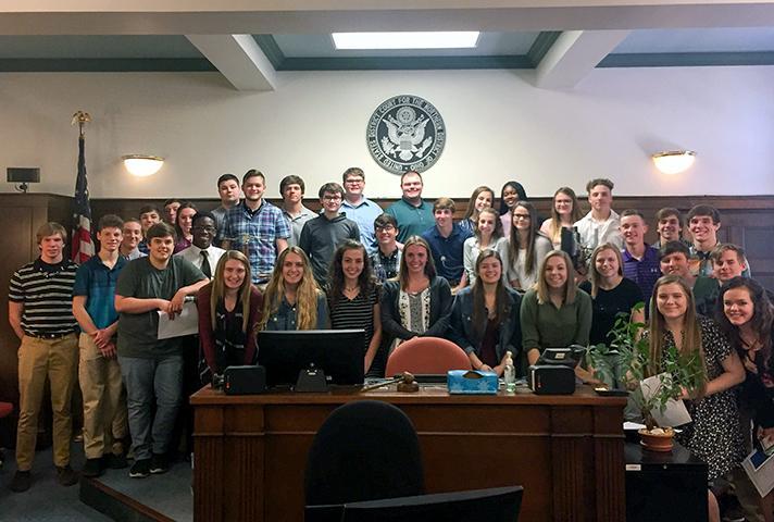 Law day activities in Toledo, Ohio.