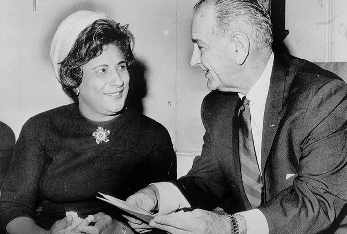 Constance Baker Motley became the nation's first African American woman to serve as a federal judge in 1966.
