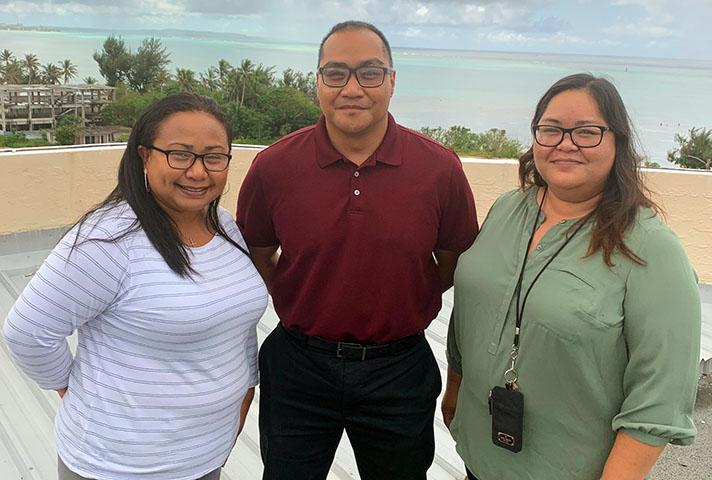 Probation staff from the U.S. District Court for the Northern Mariana Islands.