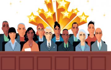 Image of a jury.