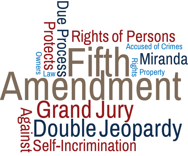 Image result for Fifth Amendment to the U.S. Constitution