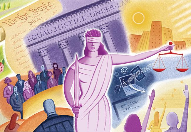 An Image Of Lady Justice. The Annual National Initiative Open Doors ...